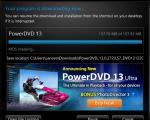 Screenshot CyberLink PowerDVD 13